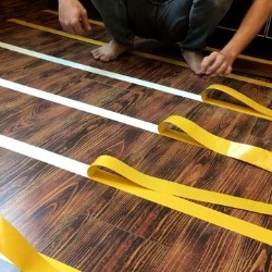 double sided tape for installing gym flooring