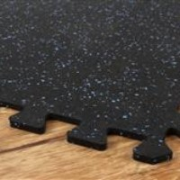 rubber gym floor puzzle mats